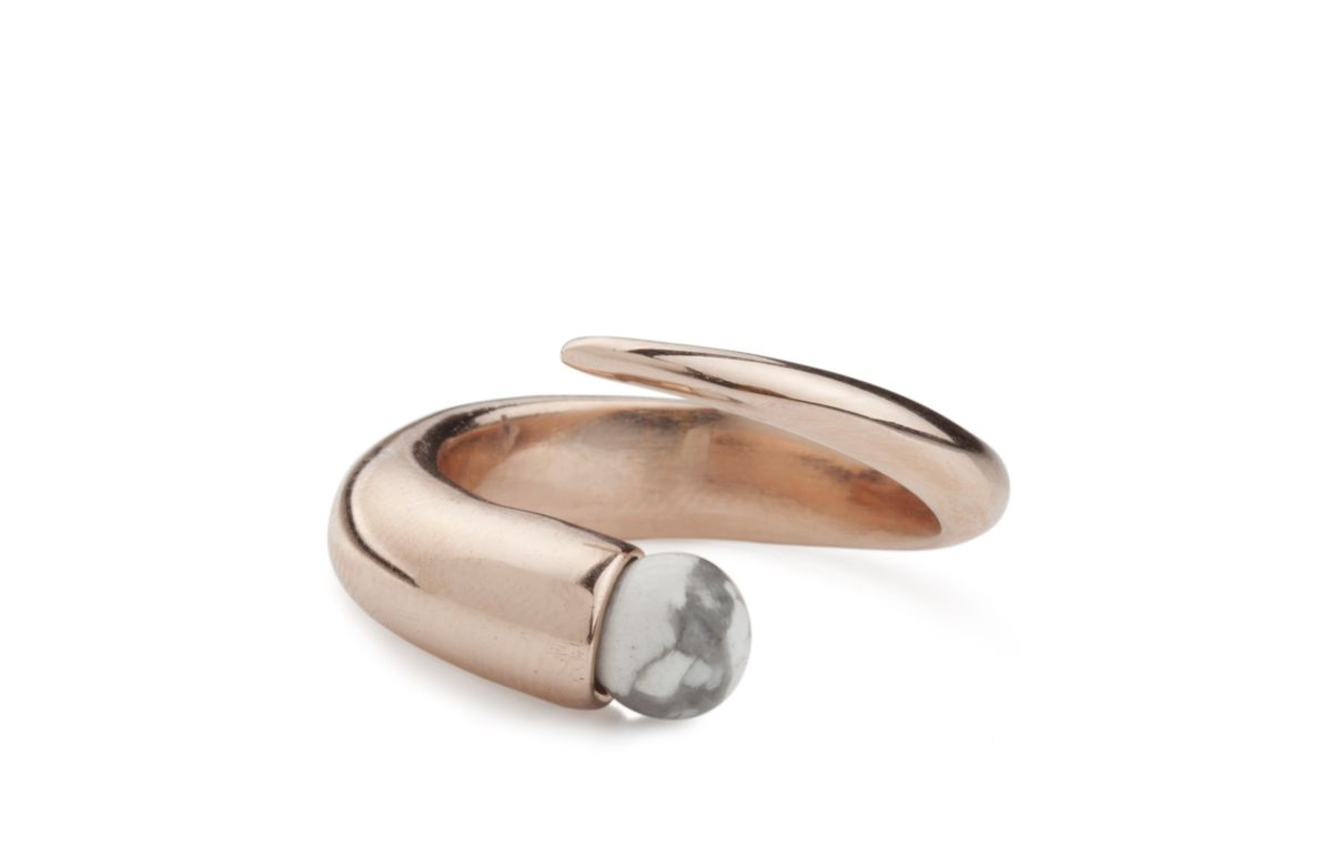 Ros Millar: Rose Orb Ring | Jewelry,Jewelry > Rings -  Hiphunters Shop