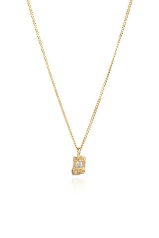 Sapphire,Rock,Necklace, princess cut, yellow gold, jewellery, rosmillar