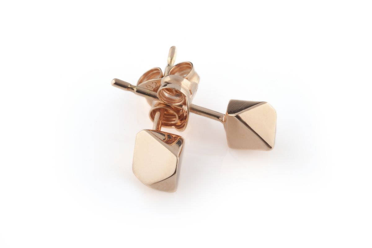 Rose Gold 002 Meteor Earrings - product images  of