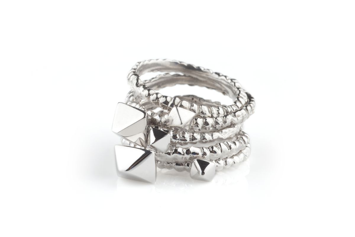 White Meteor Band Stack - product images  of