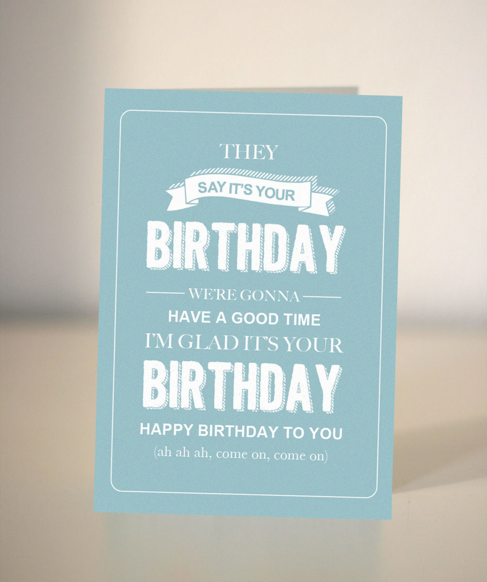 greeting cards collection  dickens ink., Birthday card