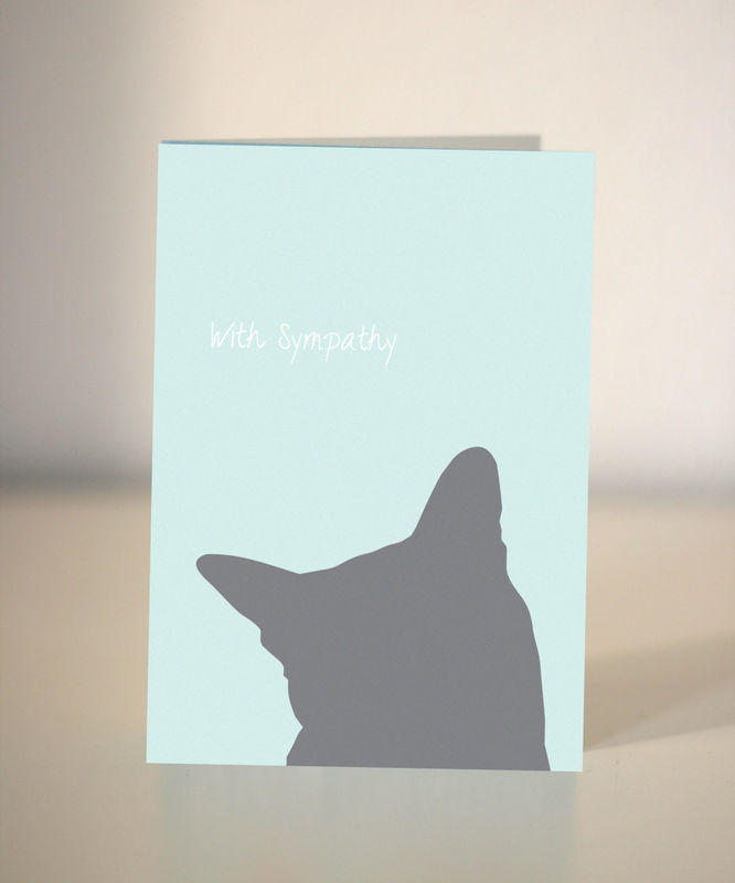 pet sympathy card for dog and cat lovers dickens ink