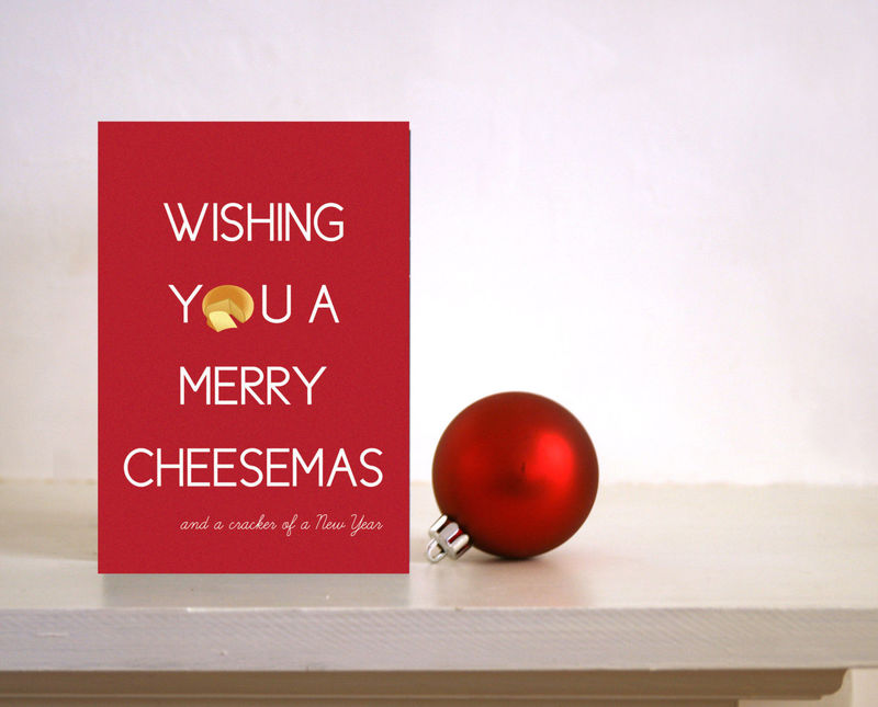 Funny christmas card wishing you a merry cheesemas foodie card funny christmas card wishing you a merry cheesemas foodie card card for husband m4hsunfo