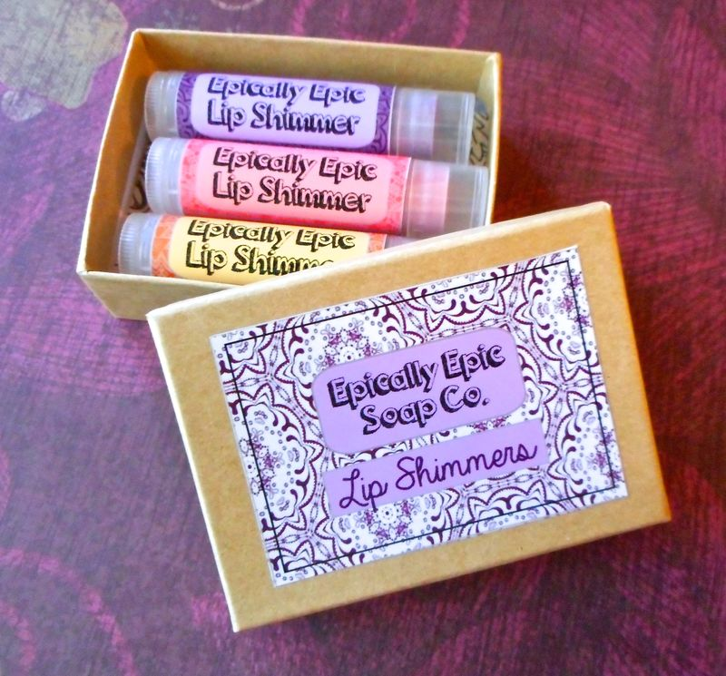 Gift Trio of Epic Lip Balms - Pick 3 Holiday Collection Flavors - product images  of