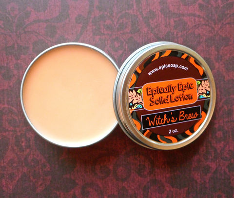 Witch's,Brew,Many,Purpose,Solid,Lotion,Bath_And_Beauty,hand_cream,body_butter,lotion_bar,epically_epic,solid_lotion,vegan_lotion,fall_collection,autumn_scent,halloween_lotion,halloween_beauty,cuticle_butter,witches_brew,witch_lotion,macadamia butter,jojoba,candelilla wax,coconut oil,olive squa