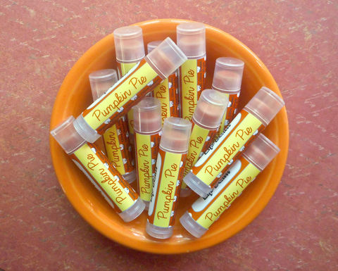 Pumpkin,Pie,Lip,Balm,Bath_And_Beauty,Lip_Balm,thanksgiving,autumn,pumpkin_orange,lip_gloss,epically_epic,lip_balm,pumpkin_pie,lipbalm,fall_lip_balm,holiday,vegan_lip_balm,halloween,fall_collection,castor oil,vitamin e,flavor,natural sweetener,color,candellila wax,carnauba wax