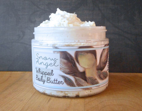 Snow,Angel,Whipped,Body,Butter,Bath_And_Beauty,hand_cream,body_butter,vegan,vegan_lotion,vegan_hand_cream,gingerbread_lotion,winter_holidays,christmas_lotion,EE,epically_epic,whipped_body_butter,whipped_shea_butter,body_cream,macadamia butter,jojoba,olive squalane,fragrance,vitamin e,p