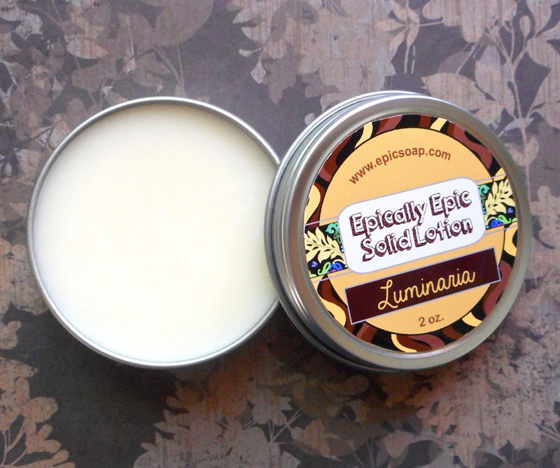 Luminaria Many Purpose Solid Lotion - product images  of