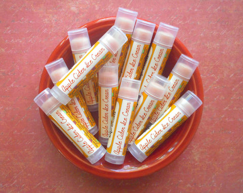 Apple,Cider,Ice,Cream,Vegan,Lip,Balm,-,Limited,Edition,Fall,&,Holiday,Flavor,Bath_And_Beauty,Lip_Balm,vegan,lip_balm,epically_epic,lip_gloss,lip_butter,vegan_lip_balm,epic_lip_balm,lipbalm,apple_lip_balm,apple_cider_lip_balm,ice_cream_lip_balm,fall_collection,autumn_lip_balm,castor oil,vitamin e,candelilla wax,flavor,natural sweet