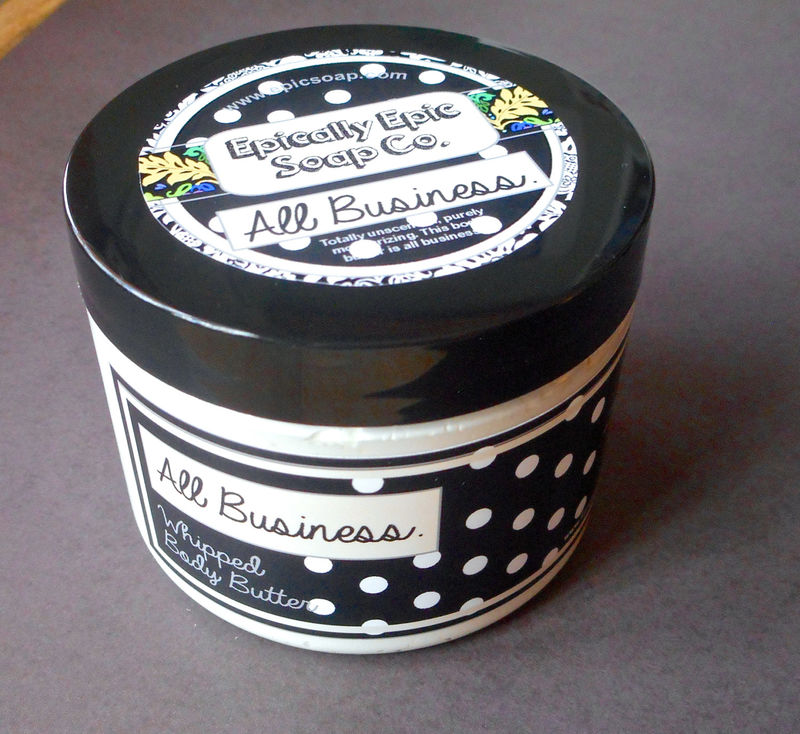 All Business Whipped Body Butter - Unscented - product images  of