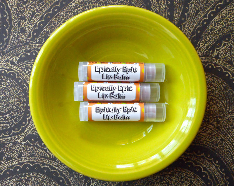Sugar Cane Vegan Lip Balm - Limited Edition Island Heart Flavor - product images  of