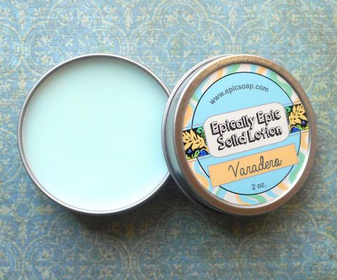Varadero,Beach,Many,Purpose,Solid,Lotion,-,White,lily,,saltwater,,verbena,,clean,laundry,Bath_And_Beauty,hand_cream,solid_perfume,cuticle_butter,solid_lotion,vegan_lotion,epically_epic,travel_lotion,lotion_bar,lotion_tin,island_heart,cucumber_lotion,tomato_leaf_lotion,green_scent,macadamia butter,candelilla wax,jojoba,olive squalane,fragrance