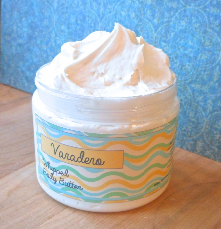 Varadero Whipped Body Butter - White lily, saltwater, verbena, clean laundry - product images  of