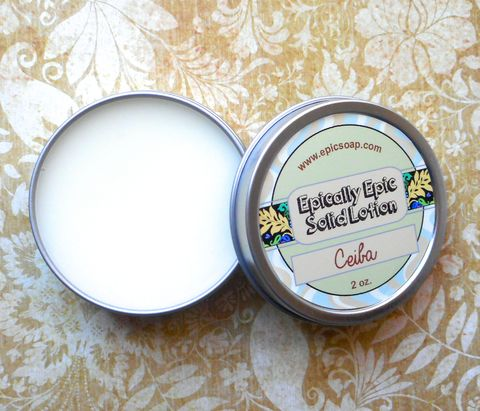 La,Ceiba,Many,Purpose,Solid,Lotion,-,The,Sacred,Tree,Bath_And_Beauty,hand_cream,body_butter,lotion_bar,vegan,epically_epic,lotion,solid_lotion,vegan_lotion,etsy_lotion,coffee,vanilla,cafe_con_leche,island_heart,macadamia butter,jojoba,candelilla wax,olive squalane,fragrance,vitamin e,mineral color,colloidal
