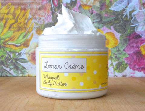 Lemon,Crème,Whipped,Body,Butter,Bath_And_Beauty,hand_cream,body_butter,vegan,epically_epic,whipped_body_butter,whipped_shea_butter,body_cream,vegan_body_butter,macadamia_butter,sweet_summer,lemon_lotion,lemon_cream,lemon_vanilla,macadamia butter,jojoba,olive squalane,fragrance,vitamin e