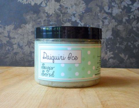 Daiquiri,Ice,Sugar,Scrub,-,8,oz,Limited,Edition,It's,Still,Summer,Scent,Bath_And_Beauty,Soap,sugar_scrub,body_scrub,natural_scrub,exfoliating_scrub,vegan_sugar_scrub,epicallyepicsoap,moisturizing_scrub,shea_butter_scrub,emulsifying_scrub,lime_sugar_scrub,daiquiri_ice_scrub,still_summer,ice_cream_scent,cane sugar,turbinado sug