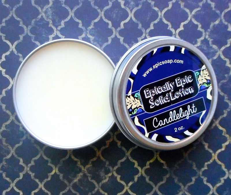 Candlelight Many Purpose Solid Lotion - Limited Edition Halloween and Fall Scent - product image