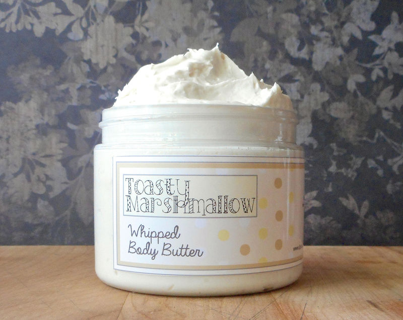 Toasty Marshmallow Whipped Body Butter - Fall Collection Scent - product images  of