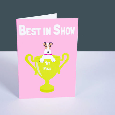 Best,in,Show,Terrier,Card,Best in Show Dog Card, Terrier Card, Fox Terrier Best in Show Card, Mother's Day Card, Terrier Mother's Day Card