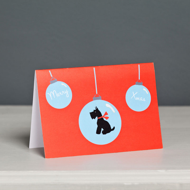 Scottish Terrier Christmas Card  - product image