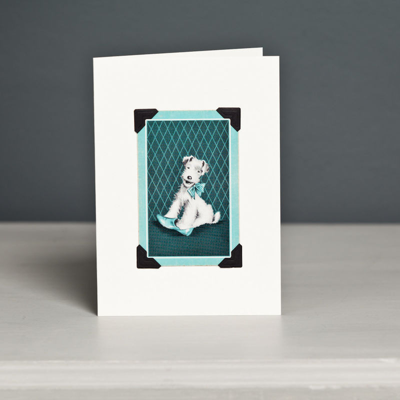 Fox Terrier Card - product image