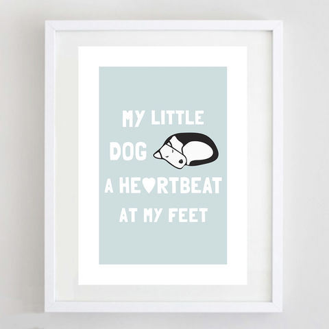 My,Little,Dog,Print,My Little Dog Print