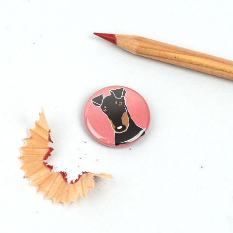 Manchester,Terrier,Badge,Manchester Terrier Badge, Manchester Terrier Pinback Button, Manchester Terrier Gift, Dog Badges