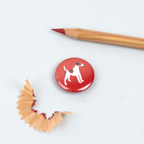 Smooth,Fox,Terrier,Badge,Smooth Fox Terrier Badge, Smooth Fox Terrier Pinback Button, Dog Badge, Fox Terrier Badge