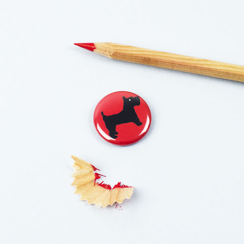 Scottish,Terrier,Badge,Scottish Terrier, Scottie Badge, Scotty Badge