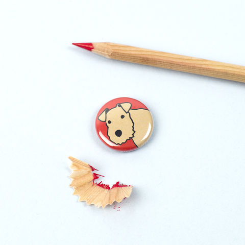 Lakeland,Terrier,Badge,Lakie Badge, Lakie Pinback Button, Lakeland Terrier Gift, Lakeland Terrier Pinback Button, Lakeland Terrier Badge