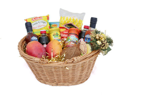 Caribbean,Christmas,Hamper, Christmas Gift, Gift Hamper, Gift Basket, Food Hamper