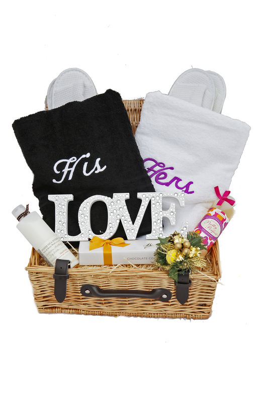 His And Her Wedding Gifts Ideas : His n Hers Gift Hamper - A Gift Basket from Heaven