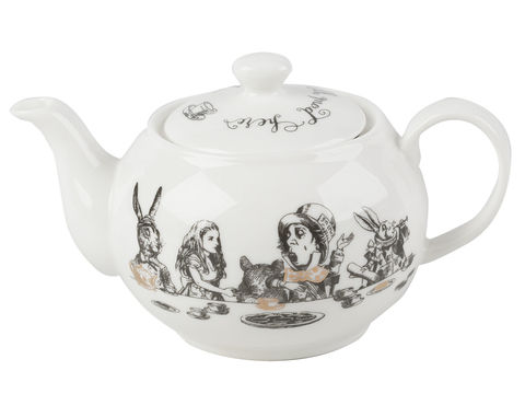 Victoria,And,Albert,Alice,In,Wonderland,Mini,Teapot,Alice in wonderland, Fine China, Vintage, Tea Party, Mini Teapot