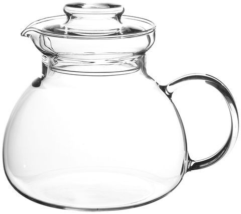 Randwyck,Cleo,1500ml,Teapot,Glass Teapot, Tea, Teapot, Stainless Steel, Hot Drink, Glass, Randwyck