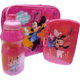 Disney,Minnie,Mouse,Lunch,Bag,Kit,Little Girls Gift, Gifts, Children's Gifts