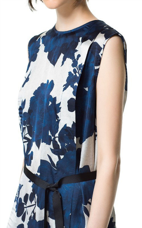 CHINA FLORAL DRESS - product image