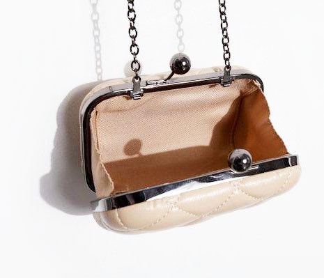 CHECK CLUTCH BAG - product image