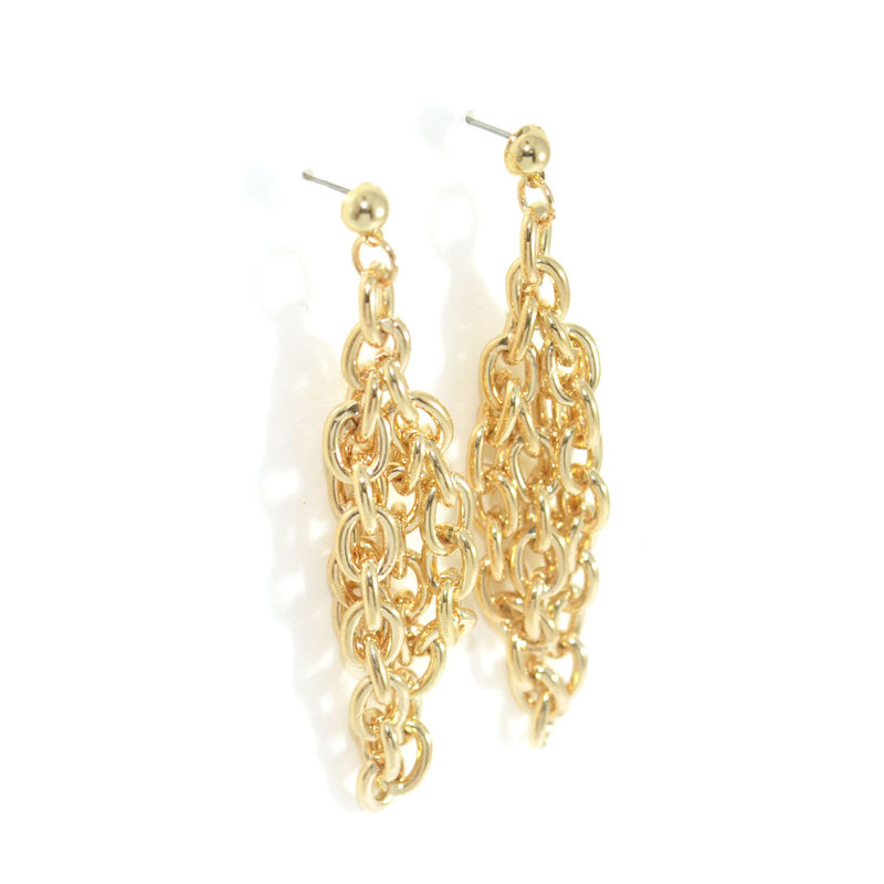 CHAIN DROP EARRINGS - product image
