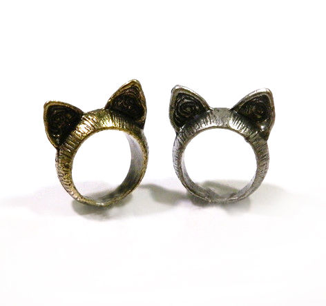 CAT EAR RING - product image