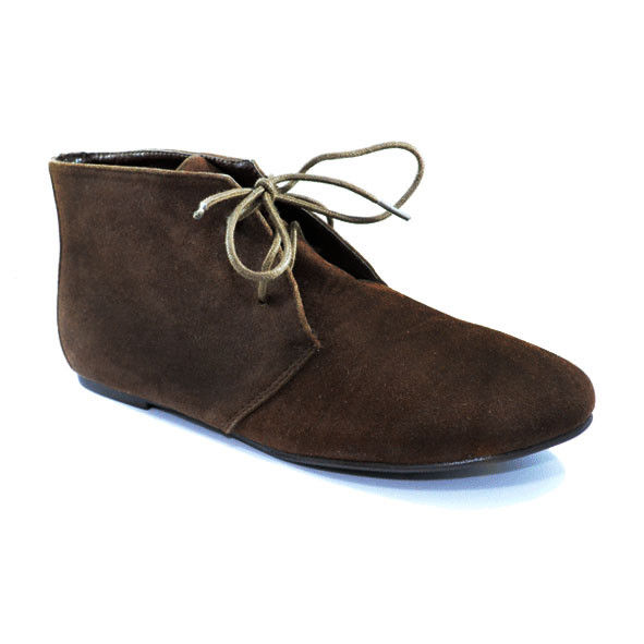 BROWN ANKLE HEELED BOOTS - product image