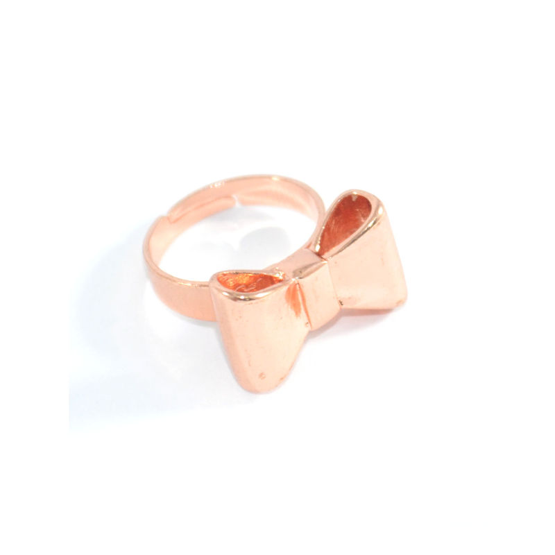 women friendship cute rings friend gift for bow best ring day valentine ribbon pin silver