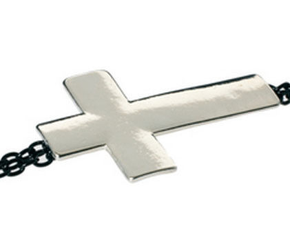 BODY CROSS NECKLACE - product image