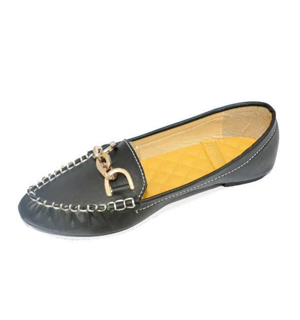 BLACK LOAF SHOES - product image