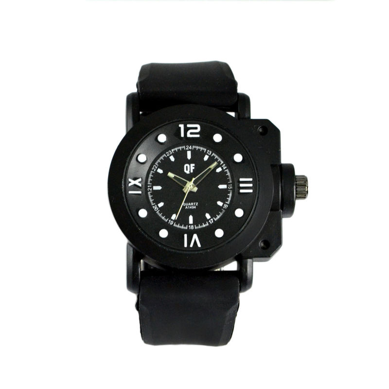 BLACK CHRONOGRAPH WATCH - product image