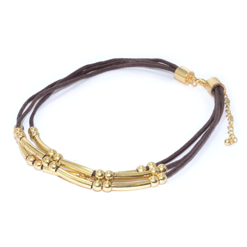 BEADS AND TUBES MULTI STRAP BRACELET - product image