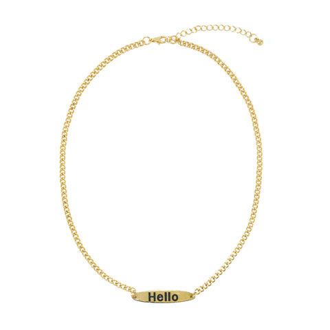 HELLO,NECKLACE