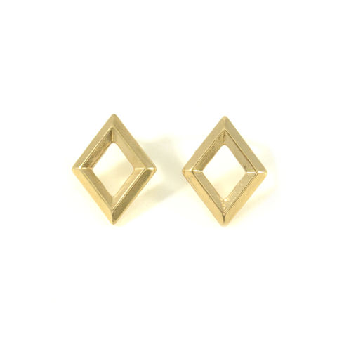 HOLLOW,RHOMBUS,EARRINGS,vendor-unknown,Cart2Cart