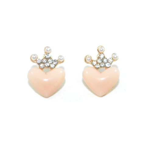 HEART,WITH,CRYSTAL,CROWN,EARRINGS