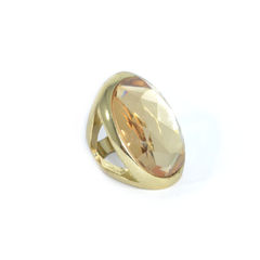 GOLD,TONE,EDGE,WITH,CRYSTAL,RING