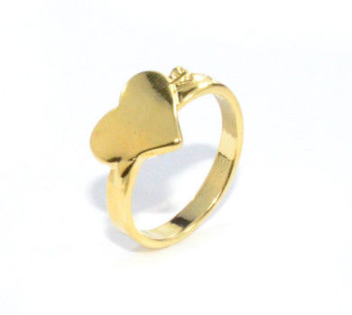 GOLD HEART RING - product image